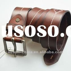 2012 Newest Designer Fashion Casual Cow Genuine Leather Belt For Men