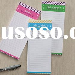 2012 customized promotion stationery/sticky memo note for school and office