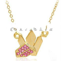 2012 fashion gold necklaces /costume jewelry
