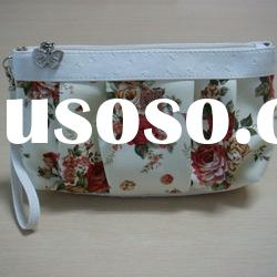 2012 hot sale designer high quality cotton woven cosmetic bag