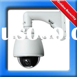 27X Optical Zoom 480TVL High Speed Outdoor IR Day Night Dome PTZ Camera with Fan