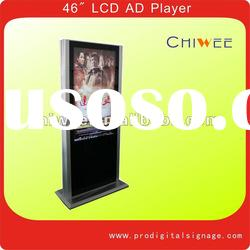 """46"""" Standing LCD advertising player, LCD ad player, LCD digital signage player"""