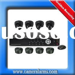 4 Channel CCTV Surveillance Security DVR IR Night Vision Camera System Kit
