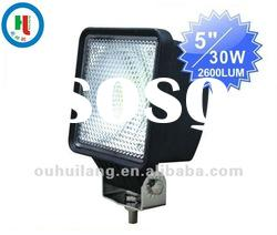 5'' 30w LED Working Light for ATV Mining Truck Excavator,offroad,spot beam