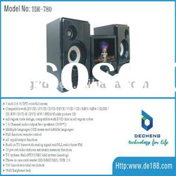 7'' MINI HIFI DVD AUDIO SYSTEM TDR-780