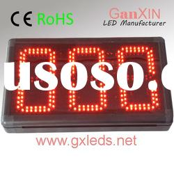 8inch 3digits indoor red high quality alibaba express led counter