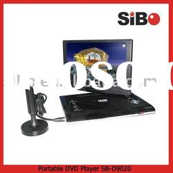 9 Inch Portable DVD Player With DVB-T (Digital TV)