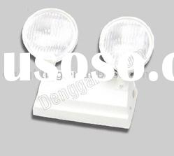 ABS plastic housing 2*3W LED emergency light With battery backup