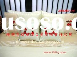 Asia style various colours wedding bed sets