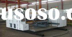 Automatic two color water ink printing machine,carton making machine