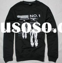 Black Long sleeve cotton t-shirt