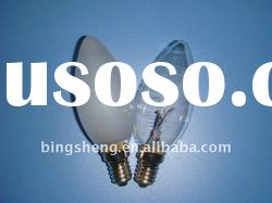 C35 Clear/Frosted Incandescent Bulb