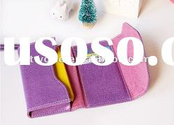 Card Holder Wallet Leather Case Cover Pouch for Apple iPhone 4 4G 4S