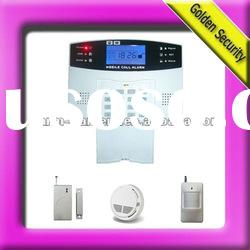 China Supplier Home Alarm GSM with 100 wireless zones