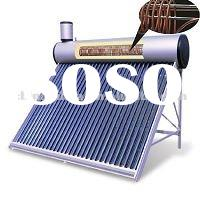 Close loop thermosyphon high pressurized preheated copper coil solar hot water