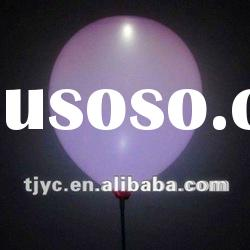 Colorful flashing LED balloon for party decoration
