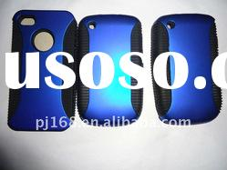 Combo PC TPU Mobile Cell Phone Case/Cover For iPhone 4G