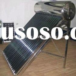 Compact non-pressure solar water heater for home appliance