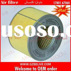 Compressed air filter 17801-67060 for TOYOTA LAND CRUISER FZJ10# HZJ105