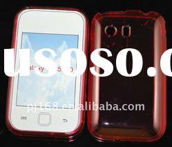 Crystal TPU Cell Phone Cover For Galaxy Y/S5360