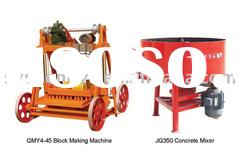 Egg laying manual hollow block Machine with diesel engine power (QM4-45)