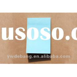 FOURBOOKS Fluorescent Colored Paper Light Blue Concise Sticky Memo Note