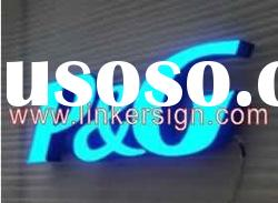 Front Light Acrylic Face and Stainless Steel Sides LED Channel Letter Sign