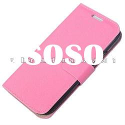 Galaxy s3 i9300 leather case cover with stand function