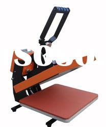 Heat press machine for t-shirt,soccer jersey, mouse pad printing (CE passed)