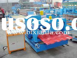 High-End Single Layer Color Steel Glazed Tile Roll Forming Machine