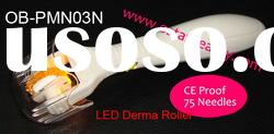 High quality professional sale derma roller with low price LED derma roller