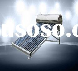 Home used non-pressurized stainless steel solar water heater
