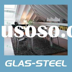 Hot Glass Furniture - Dining Room Furniture - Stainless Steel Dining Table