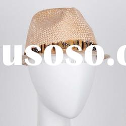 Natural Wheat Straw Hat / Wholesale Straw Hats