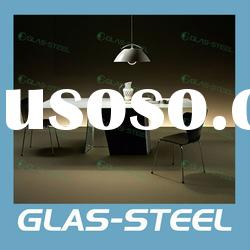 New Arrive Home Furniture - Dining Room Furniture - Modern All Glass Dining Table