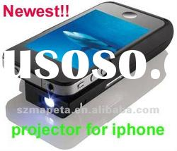 New design portable mini projector for iphone(good price)