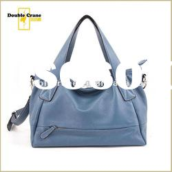 Newest 2012 Office Lady elegance real Leather handbag