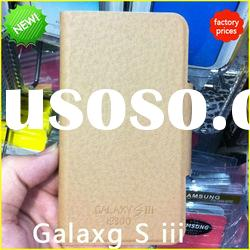 Newest Design Leather Case for Samsung Galaxy S3