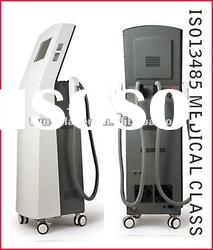 Painless Vertical Salon Use IPL Hair Removal Machine