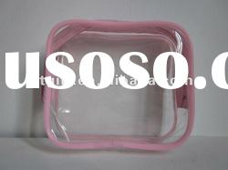 Promotional Clear Vinly PVC Cosmetic Pouch