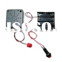 Recordable sound module with motion sensor