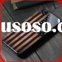 Retro National Flag Series Back Case for iphone 4 4s 4g Accessories