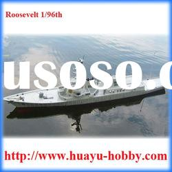 Roosevelt 1/96th scale ship