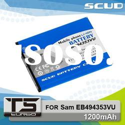 SCUD Mobile Phone Batteries for Samsung EB494353VU 1200mAh