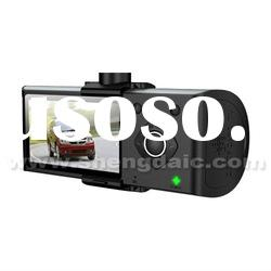 Separate Lens Car DVR GPS Car Video Recorder with 2.7inch TFT LCD