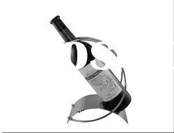 Simple and Creative 304 stainless steel wine rack