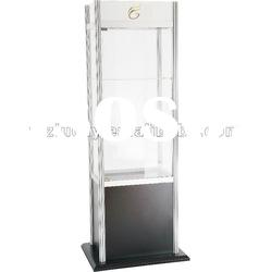 Store glass jewelry display cabinet