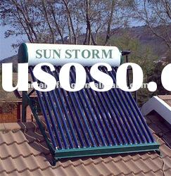 Sun Storm Green product non-pressurized solar thermal collector