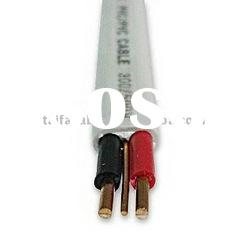 Top quality PVC Twin Sheath 6 mm2/ 9-10 AWG power cable