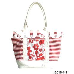 canvas handbag and totes with printed